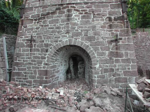 Front of Furnace